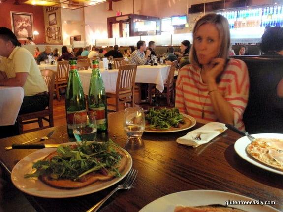 gluten free, Il Fornello, Gorgonzola Pizza
