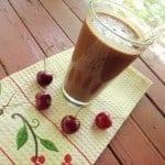 Chocolate Cherry Milkshake--like a Chocolate Cherry Frosty! (photo)
