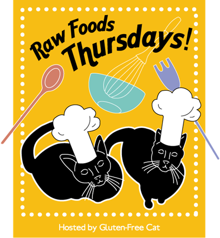 raw foods, raw foods thursdays, gluten-free cat, Heather Graffam, recipes