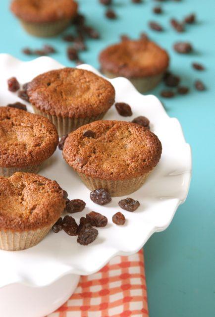 Gluten-Free Dairy-Free Almond Butter Raisin Chocolate Cookie Cakes