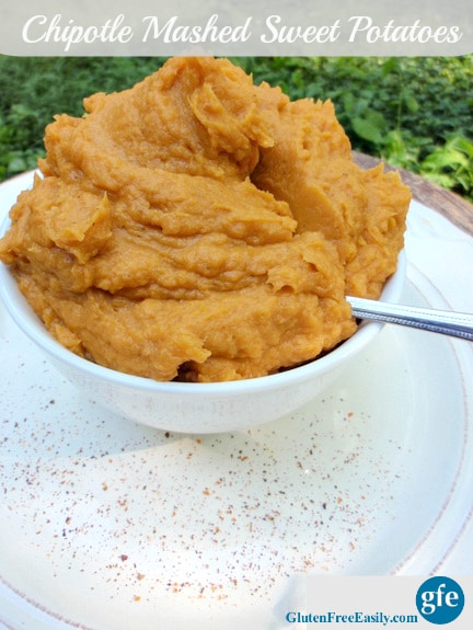 Gluten-Free Chipotle Mashed Sweet Potatoes Gluten Free Easily Dairy Free