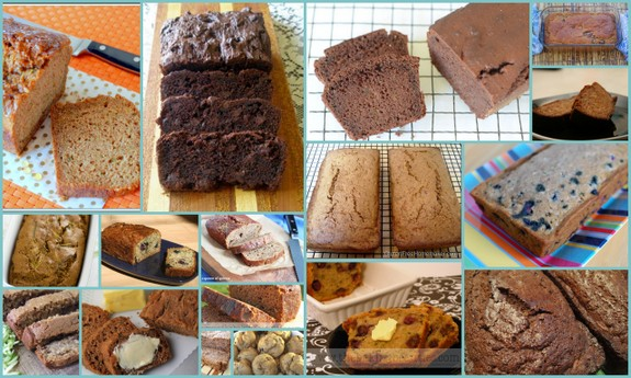 Glorious Gluten-Free Zucchini Bread Recipes [from GlutenFreeEasily.com] (photo)