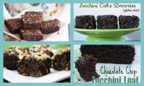 Gluten-Free Zucchini Brownie Recipes [from AllGlutenFreeDesserts.com]