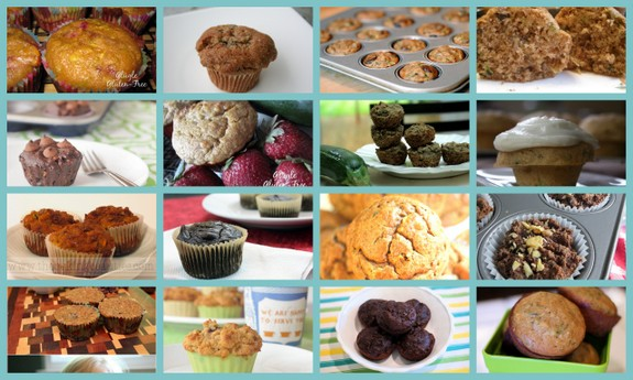 Gluten-Free Zucchini Muffin Recipes [from AllGlutenFreeDesserts.com]