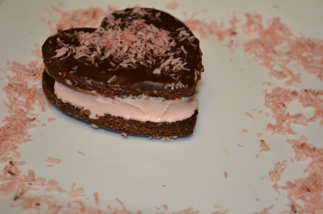 Pink Peppermint Vegan Ice Cream Sandwiches from The Tasty Alternative