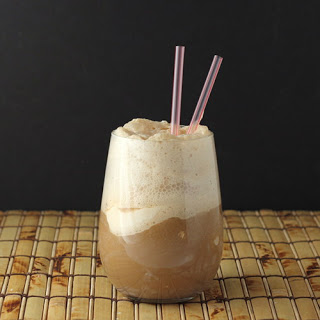 Root Beer Coffee Almond Float with Almond Whipped Cream [featured on AllGlutenFreeDesserts.com]