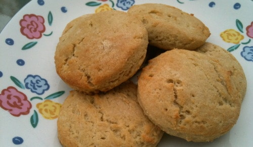 Gluten-Free Beach House Cream Biscuits from The Sensitive Pantry [featured on GlutenFreeEasily.com]