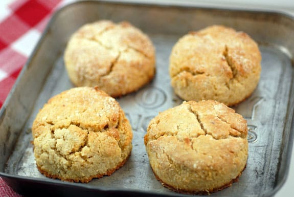 Grain-Free Biscuits from Elana's Pantry [featured on GlutenFreeEasily.com]