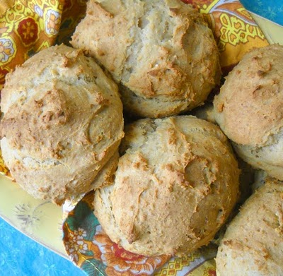 Biscuits from The Spunky Coconut [featured on GlutenFreeEasily.com]