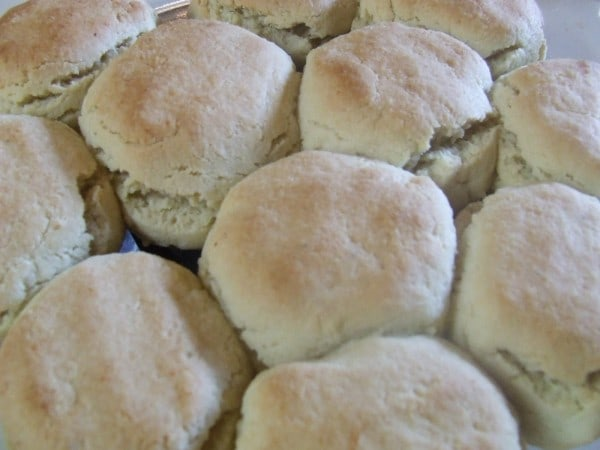 Buttermilk Biscuits from Cassidy's Craveable Creations [featured on GlutenFreeEasily.com]