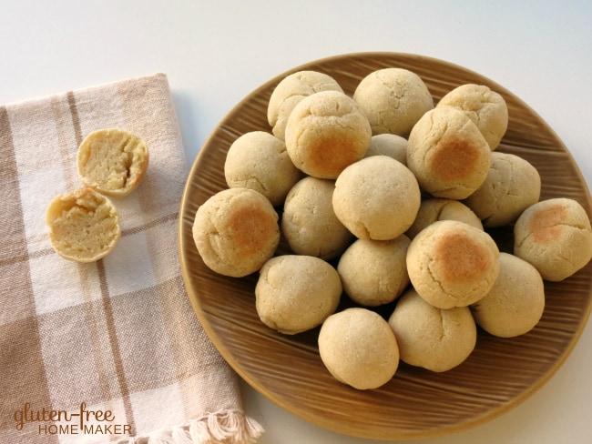 Cassava Coconut Bread Balls. Gluten-free, paleo biscuits. From Gluten-Free Homemaker.