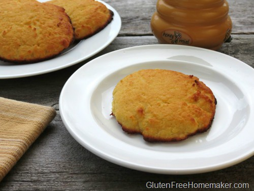 Coconut Flour Biscuits from The Gluten-Free Homemaker [featured on GlutenFreeEasily.com]