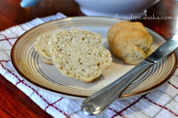 Dinner Rolls from Allergy Free Alaska [featured on GlutenFreeEasily.com]