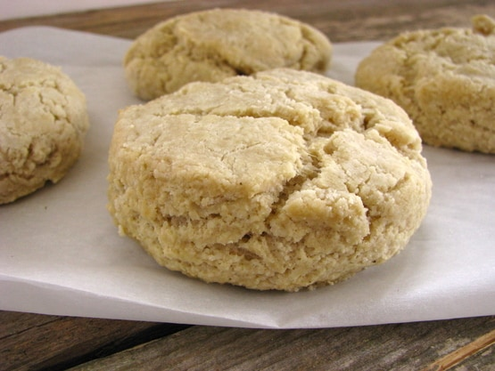 Flaky Buttery Biscuits from Brittany Angell [featured on GlutenFreeEasily.com]