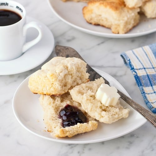 Fluffy Biscuits from Gluten Free Canteen [featured on GlutenFreeEasily.com]