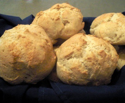 French Bread Rolls from The Gluten-Free Homemaker [featured on GlutenFreeEasily.com]