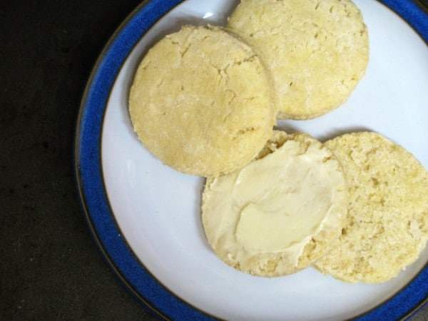 Gluten-Free Baking Powder Biscuits from Z's Cup of Tea [featured on GlutenFreeEasily.com]