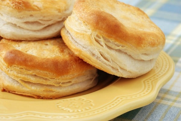 The best gluten-free biscuits! Gluten-Free Butterflake Biscuits Made with Better Batter Flour. [featured on GlutenFreeEasily.com]