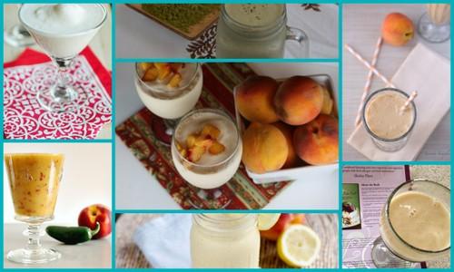 Gluten-Free Peach Beverage and Specialty Drink Recipes [featured on AllGlutenFreeDesserts.com]