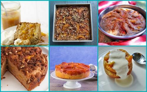So many gluten-free peach dessert recipes, including these delicious gluten-free peach cakes.