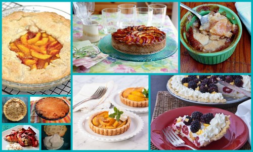 Gluten-Free Peach Pie and Tart Recipes [featured on AllGlutenFreeDesserts.com]