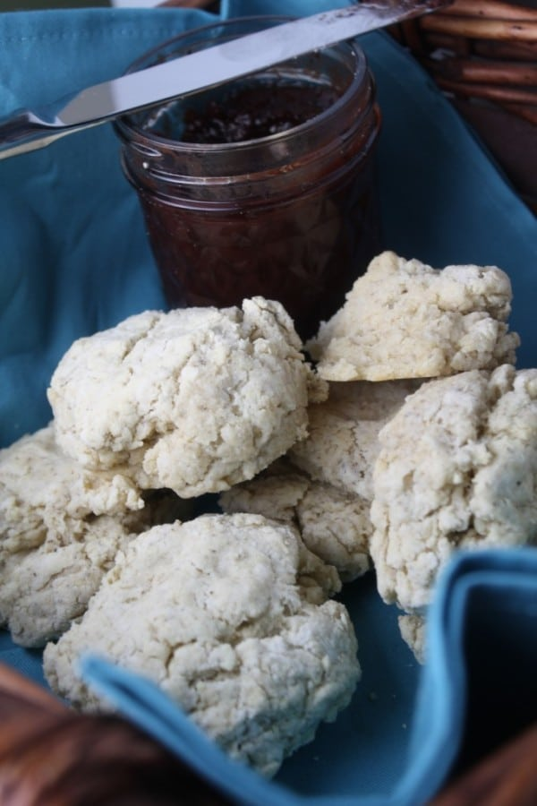 Gluten-Free, Vegan Biscuits from Tessa, The Domestic Diva [featured on GlutenFreeEasily.com]