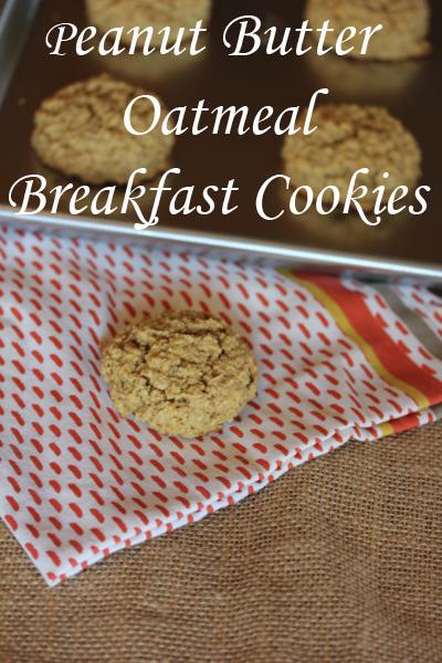 Gluten-Free Peanut Butter Oatmeal Breakfast Cookies Lynn's Kitchen Adventures