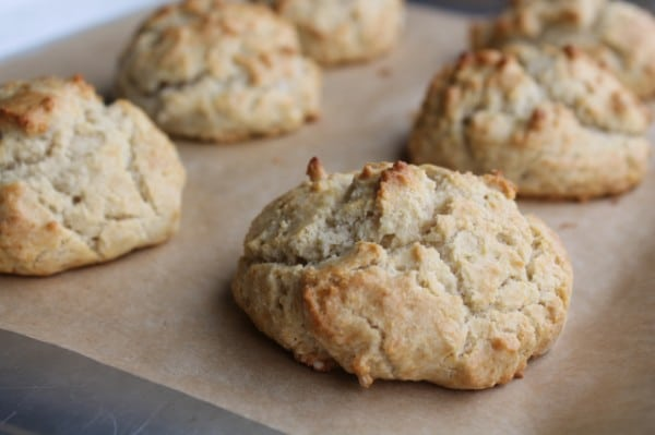 Rainy Day Biscuits from Zenbelly [featured on GlutenFreeEasily.com]