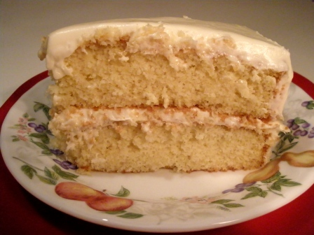 Gluten-Free Yellow Cake from The Gluten-Free Homemaker [featured on AllGlutenFreeDesserts.com]