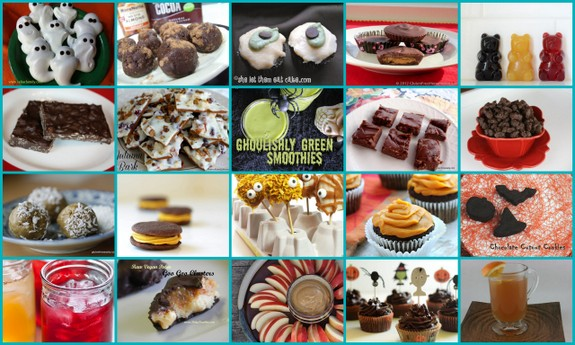 20 Last Minute Gluten-Free Halloween Treats [featured on GlutenFreeEasily.com] (photo)