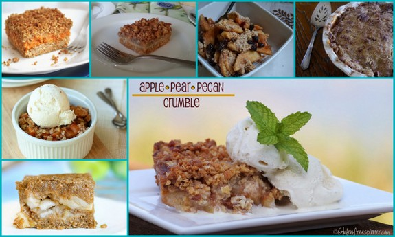 Gluten-Free Apple Crumble Recipes from All Gluten-Free Desserts