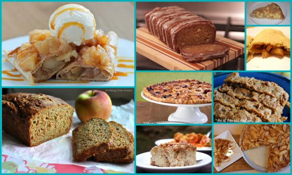Gluten-Free Apple Pastry and Bread Recipes from All Gluten-Free Desserts