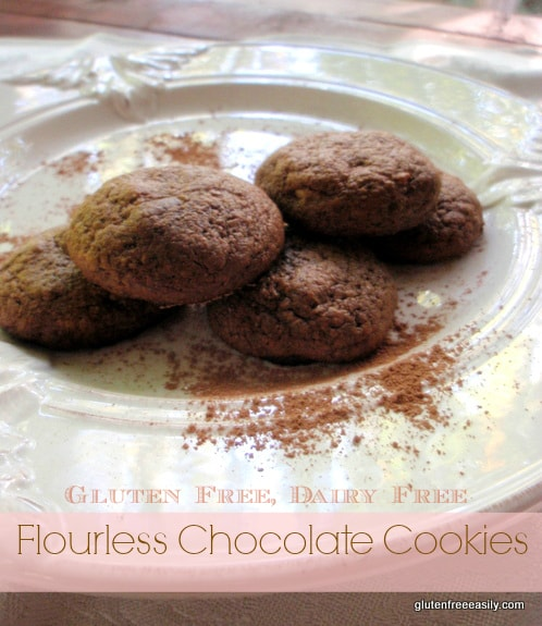 Flourless Chocolate Cookies Easily Deliver on Chocolate Flavor!