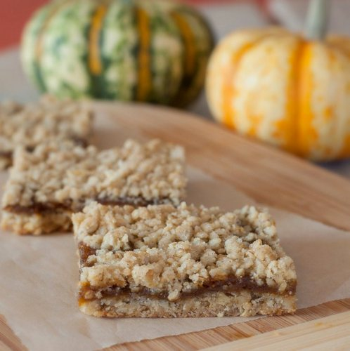 Gluten-Free & Vegan Pumpkin Pie Oatmeal Bars