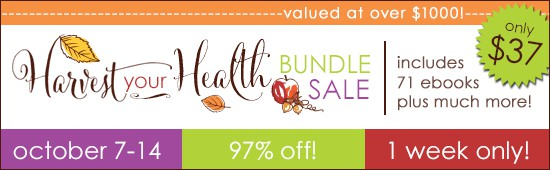 Harvest Your Health Bundle, ebook bundle, gluten-free books, real food, whole foods, value, best deal