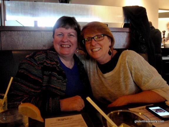 Ricki Heller, Shirley Braden, gluten free easily, Il Fornello, Toronto, Richmond Hill