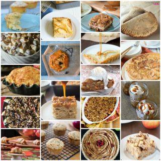 New Gluten-Free Apple Dessert Recipes Collage. [featured on GlutenFreeEasily.com]