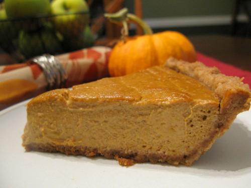 The Best Paleo Pumpkin Pie from The Paleo Mom