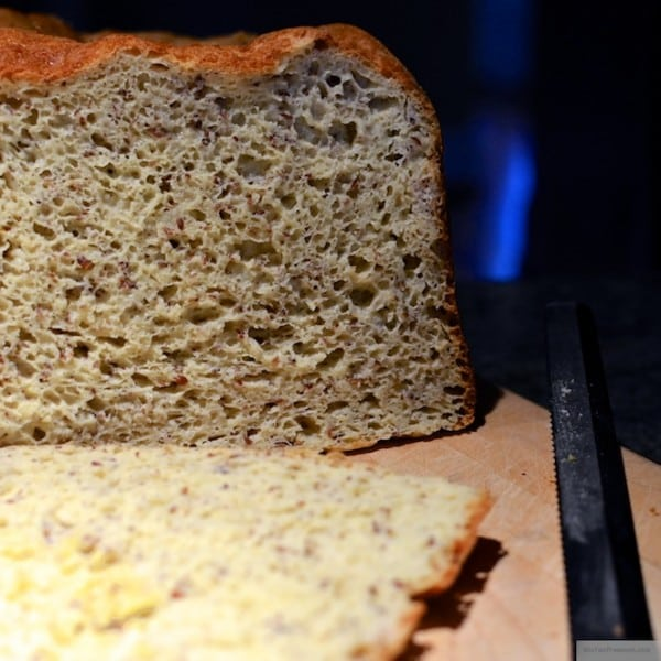 Brown Rice Bread Made in Bread Machine from Gluten-Free Mom