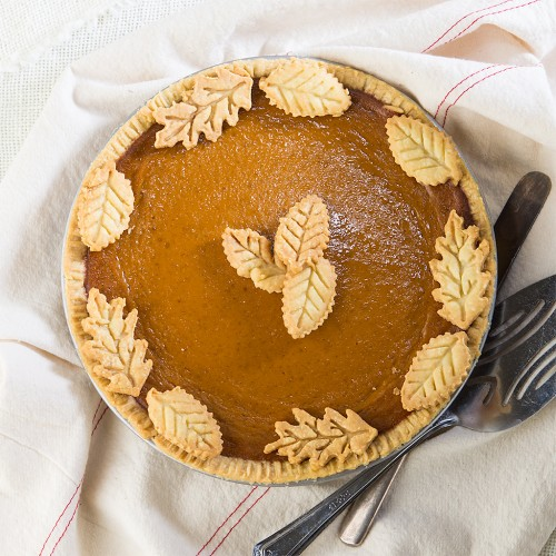 Caramel Pumpkin Pie from Gluten Free Canteen