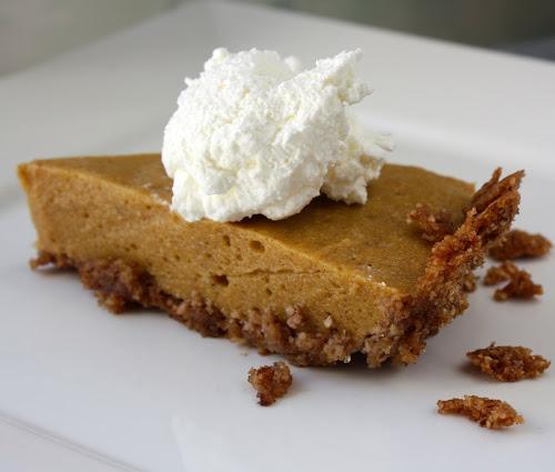 Chiffon Pumpkin Pie from Food Lover's Palate