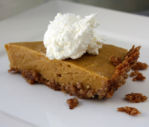 Chiffon Pumpkin Pie from Food Lover's Palate