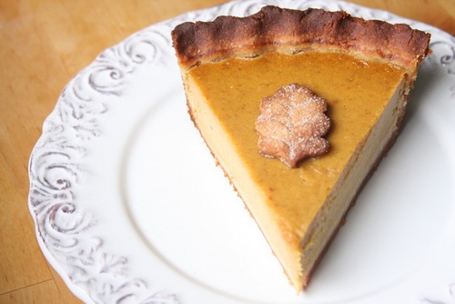 Classic Pumpkin Pie from Gluten Free Fix