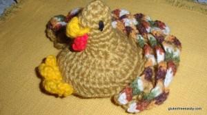 Crocheted Turkey
