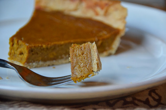 Dairy-Free, Cane Sugar-Free Pumpkin Pie The Tasty Alternative