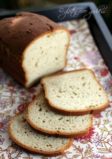 Delicious Gluten-Free Bread Machine Bread from Gluten-Free Goddess