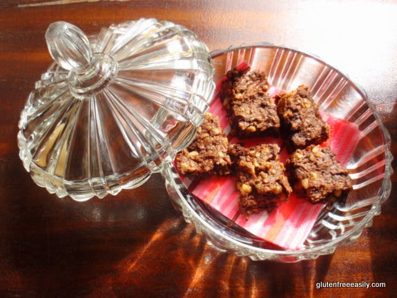 Gluten-Free Paleo Vegan Flourless Triple Nut Seed Brownies Gluten Free Easily
