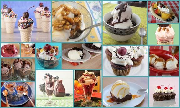 best gluten-free dessert recipes, gluten-free brownie sundae, gluten-free fudge sundae, ice cream sundae, ice cream recipes, all gluten-free desserts, free gluten-free dessert recipes