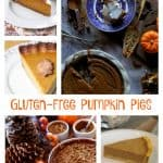 Gluten-Free Pumpkin Pies featured on gfe. 50 Gluten-Free Pumpkin Pie Recipes! Choose one or several to try. [from GlutenFreeEasily.com]