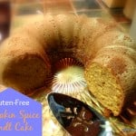 Pumpkin butter turns this gluten-free Bundt cake into something very special. A piece will be just right to go with your cup of tea or coffee ... or a glass of milk! [from GlutenFreeEasily.com]